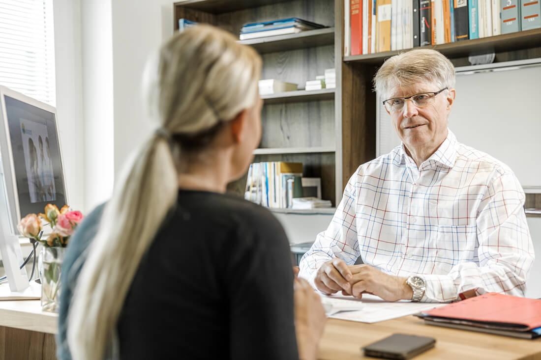 Hausarzt-Bochum-Triebel-Beratungssituation