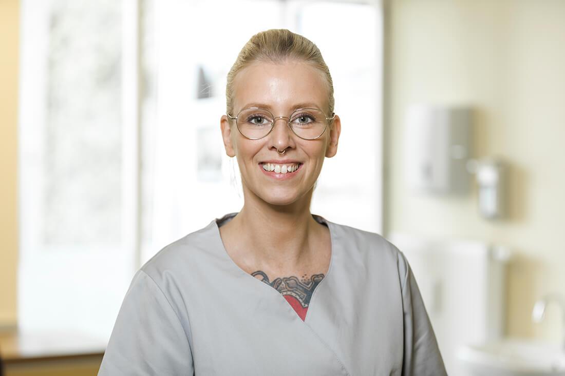 Hausarzt-Bochum-Triebel- Team: Frau Detleff - Medizinische Fachangestellte