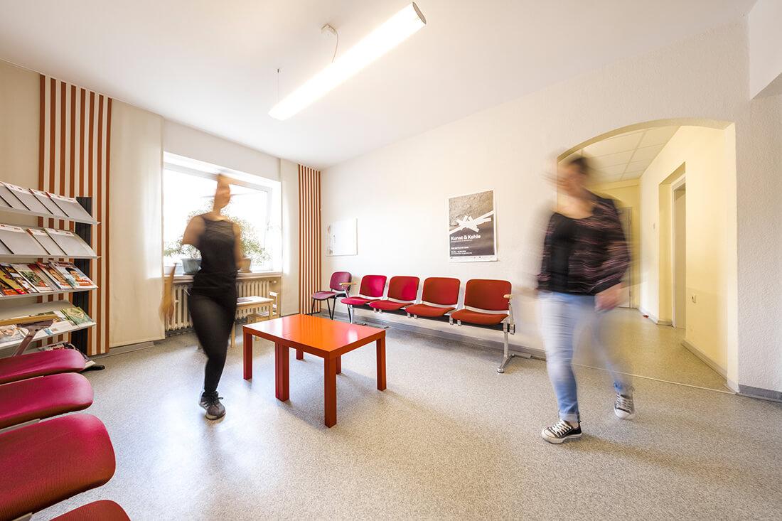 Hausarzt-Bochum-Triebel- Unser Wartezimmer